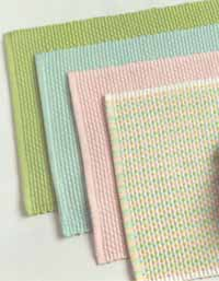Checkers Weave Placemat - Pastel Checkers