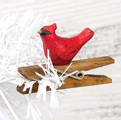 Cardinal Clip Ornament
