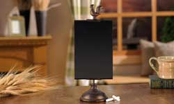 Rooster Blackboard with Stand