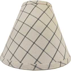 Summerville Gray Lamp Shade - 10 inch