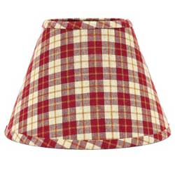 Parkersburg Plaid Lampshades