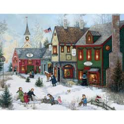 Cobblestone Holidays Christmas Cards