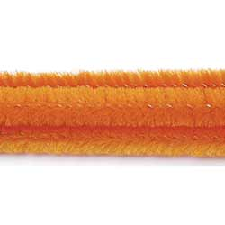 Orange Chenille Stems (100 pack)