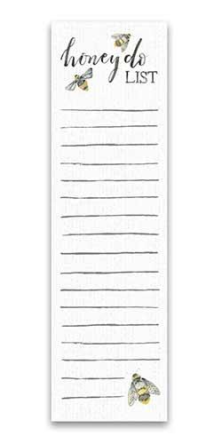 Honey Do List List Notepad