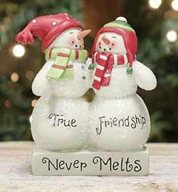 True Friendship Snowmen