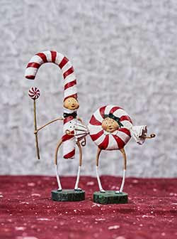 Patsy & Peppie Mint (Set of 2)