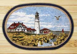 Portland Headlight Jute Rug