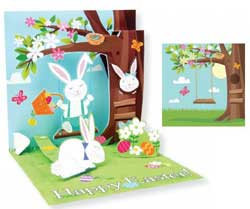 Easter Tree Pop-up Card
