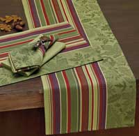 Autumn Leaves Jacquard Table Runner
