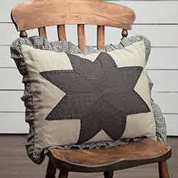 Liberty Stars Patchwork Throw Pillow (14 x 18 inch)
