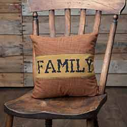 Heritage Farms Family Throw Pillow