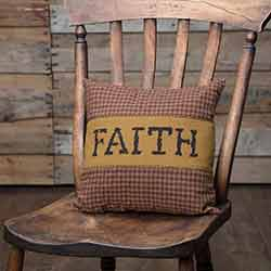 Heritage Farms Faith Throw Pillow