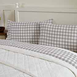 Annie Buffalo Grey Check Standard Pillow Cases (Set of 2)