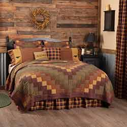 Heritage Farms California King Quilt