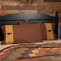 Heritage Farms Crow Standard Size Pillow Cases (Set of 2)