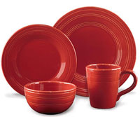 Casual Classics Cereal Bowl - Persimmon (Set of 4)