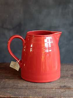Casual Classics Persimmon Pitcher