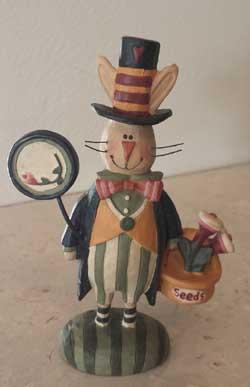 Fancy Bunny Gardener
