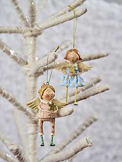 ESC and Company Babes in Toyland Ornaments (Set of 2)