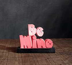 Be Mine Miniature Shelf Sitter