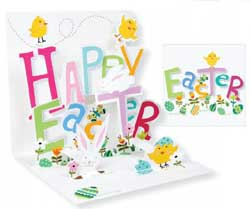 Happy Easter Pop-up Card