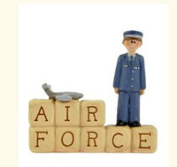 Air Force Block with Boy