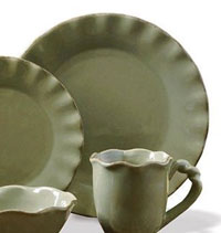 Village Dinnerware - Dinner Plate (Olive)