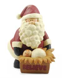 Believe Santa &amp; Manger
