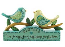 Sisters Bluebirds Block