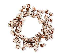 Cotton Pod 24 inch Wreath