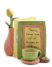 Kisses or Cookies Card & Flower