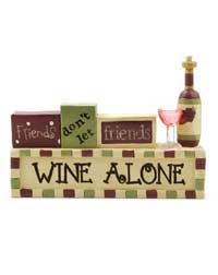 Wine Alone Block