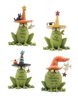 Hoppy Halloween Frog