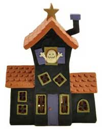 Blossom Bucket Haunted House LED