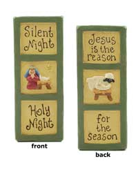 Silent Night, Holy Night Block