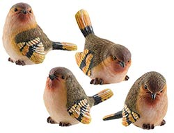 Finch Bird Figurine - Small