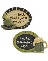 Irish Shenanigan Plaque