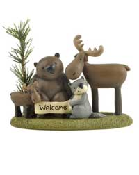 Welcome Forest Friends on Base