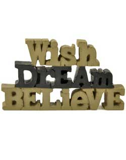 Wish Dream Believe