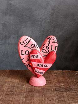 You Are So Loved Heart Figurine