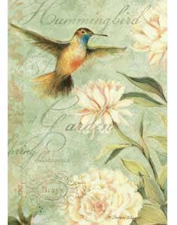 Hummingbird Deluxe Journal