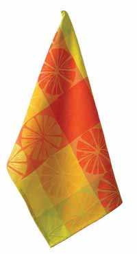 Citrus Sun Jacquard Dishtowel