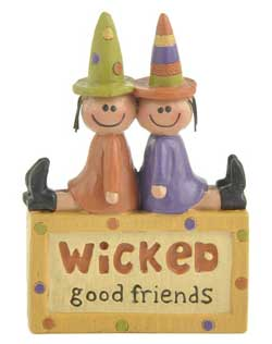 Wicked Good Friends Block with Witches
