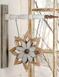 Wood & Metal Flower Arrow Replacement