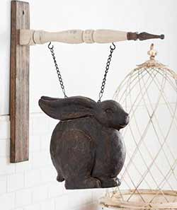 Small Dark Brown Rabbit Sitting Arrow Replacement
