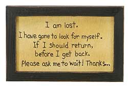 I Am Lost Stitchery