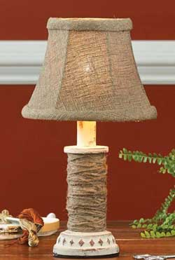 Tobacco Road Bell Lamp Shade - 6 inch