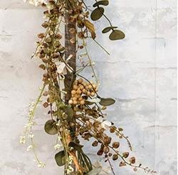 Mixed Cream Floral Garland