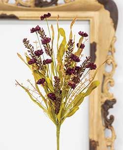 Plum Wildflower Pick