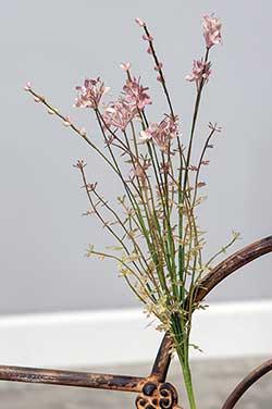 Heather Wildflower Floral Spray